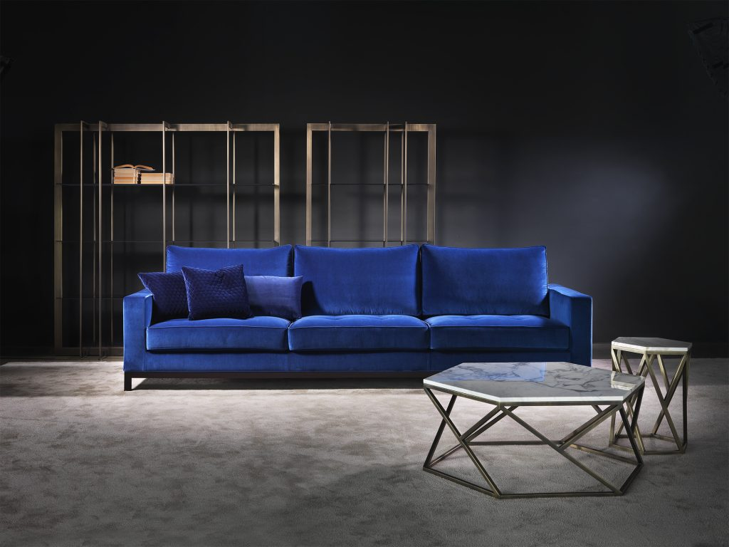 Lancaster Sofa by Giulio Marelli available to order from hōm interiors Kuwait - homkw.com