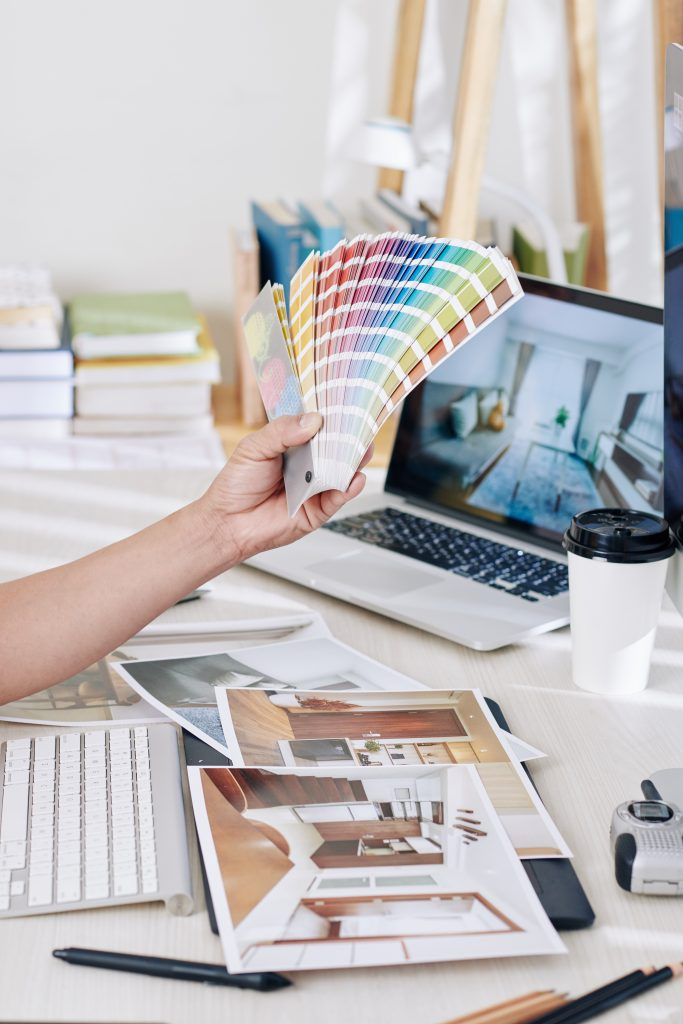 Color theory in Interior Design - www.homkw.com
